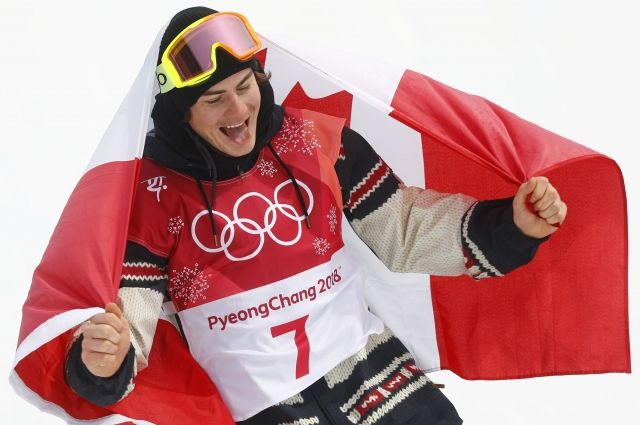 Канадец Тутан выиграл золото Олимпиады-2018 в биг-эйре