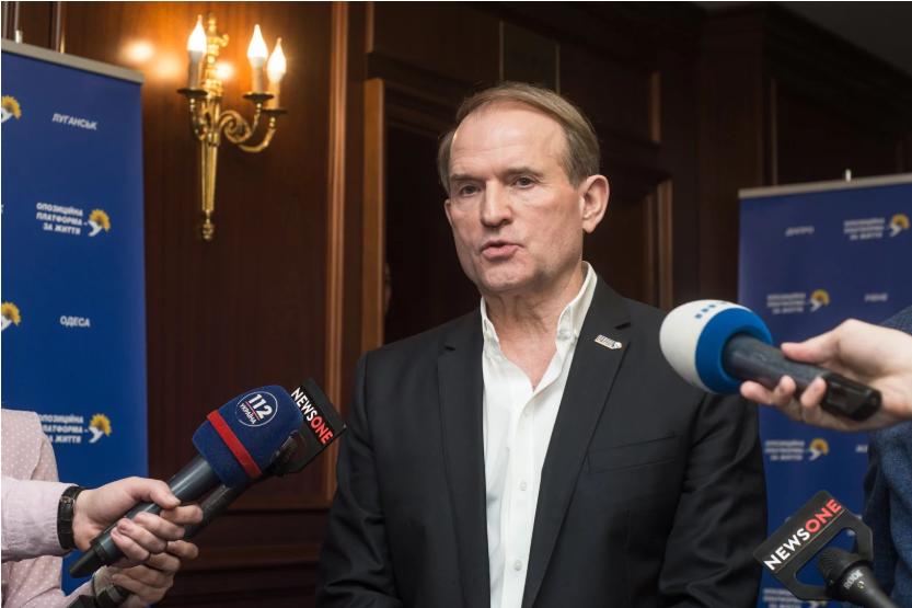 Медведчук: разрыв договора о дружбе с Россией — ошибка