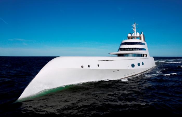 Роскошные яхты олигархов.