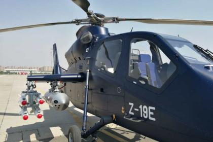 Китай успешно испытал легкий боевой вертолет «Черный торнадо»