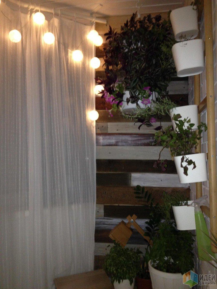 Наш балкон: немного сарая на 11 этаже