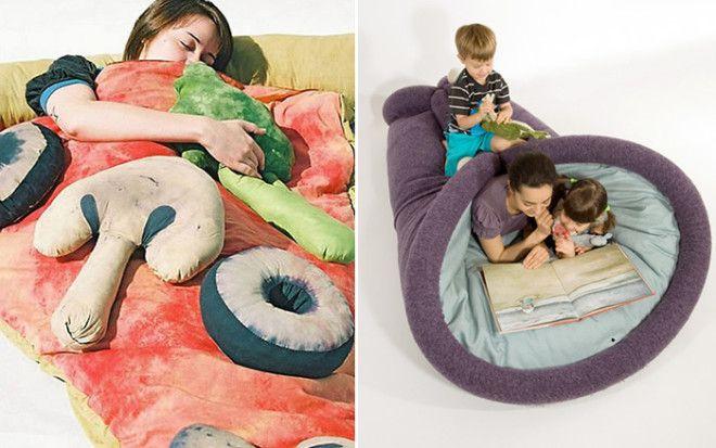 Странные спальные мешки, в которых будет комфортно вдали от дома