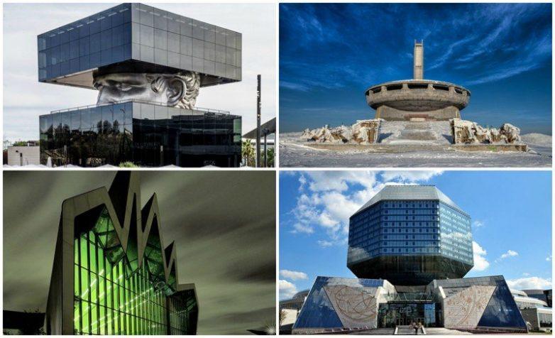 Архитектурный туризм: самые неземные постройки планеты. Часть 1