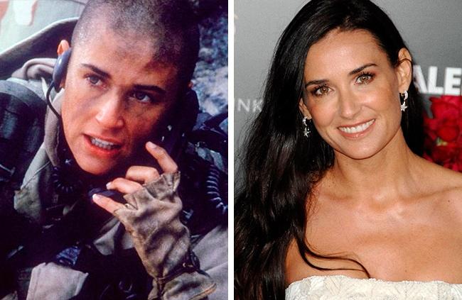 10 актрис, которые принесли свои роскошные волосы в жертву — побрились налысо ради роли
