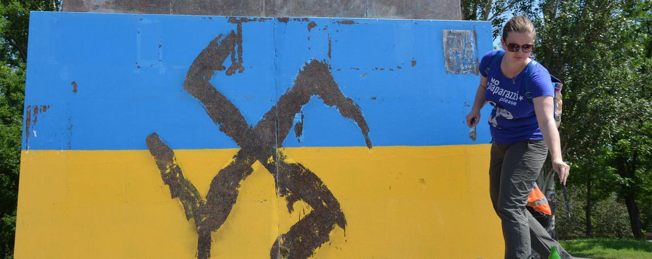 Хозяйка главного рупора Майдана взвыла, что Украина превращается в гитлеровскую Германию