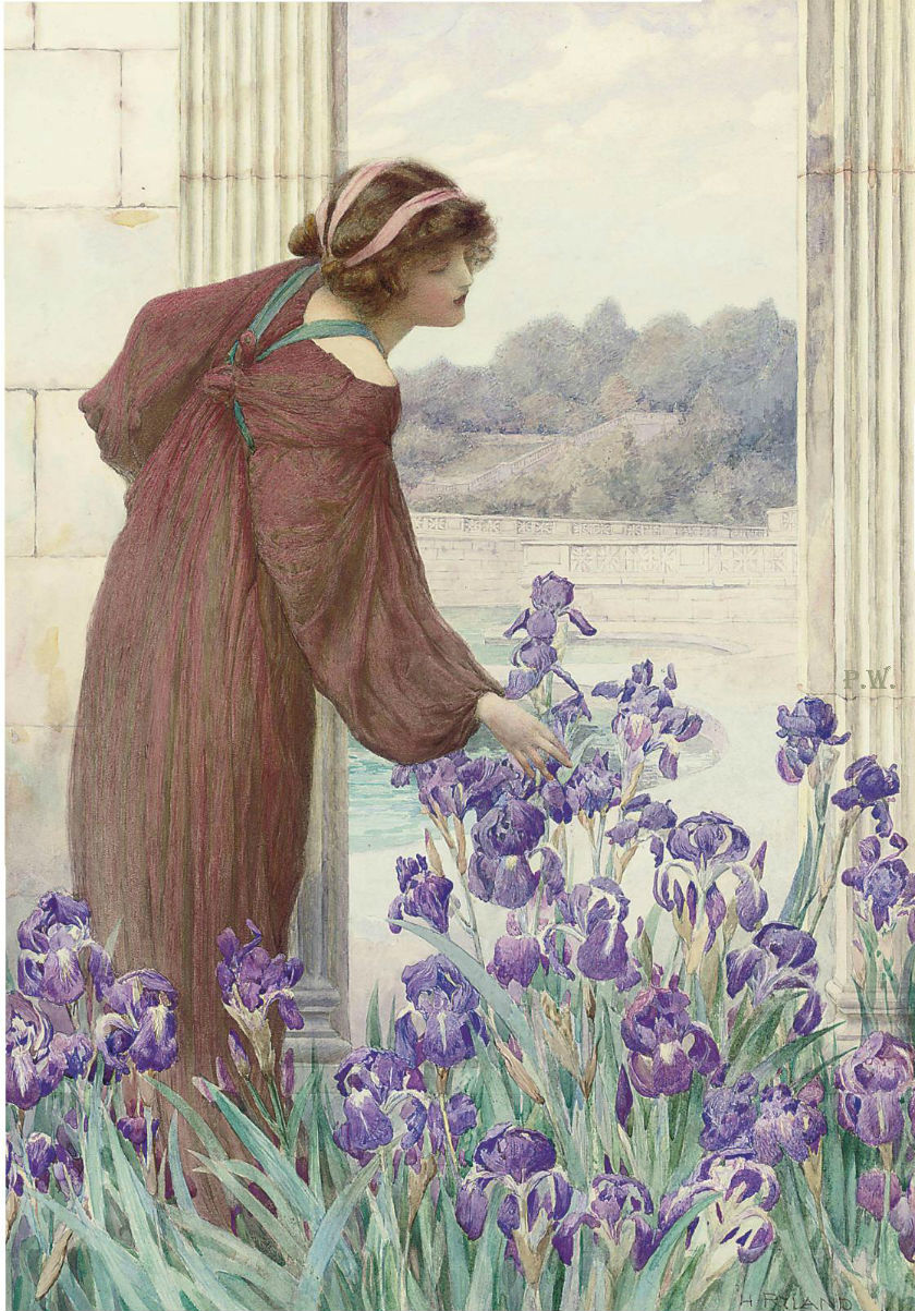 Английский художник Henry Ryland.