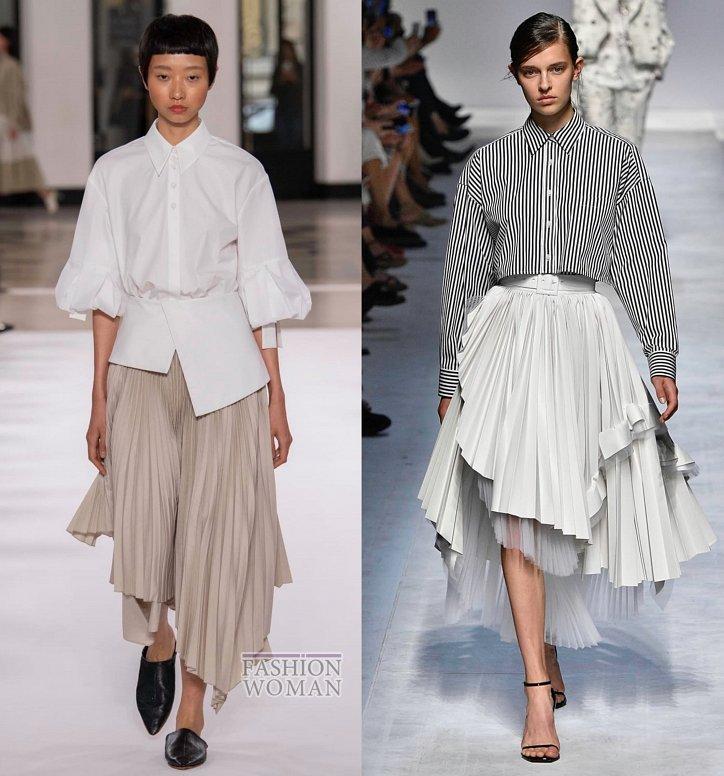 Модные юбки весна-лето 2019 фото №29