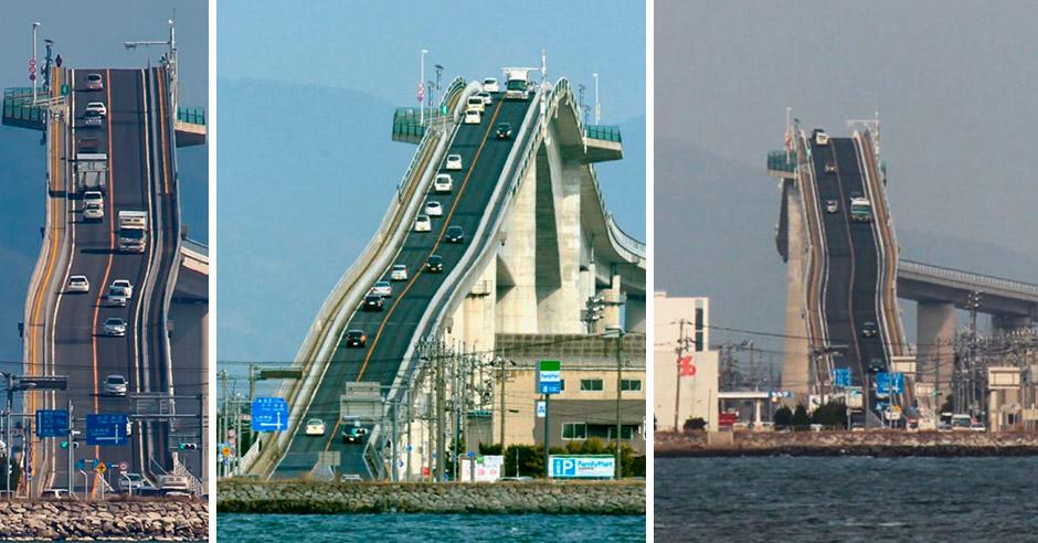 Самый крутой мост не в Японии, а в Техасе. Или нет?