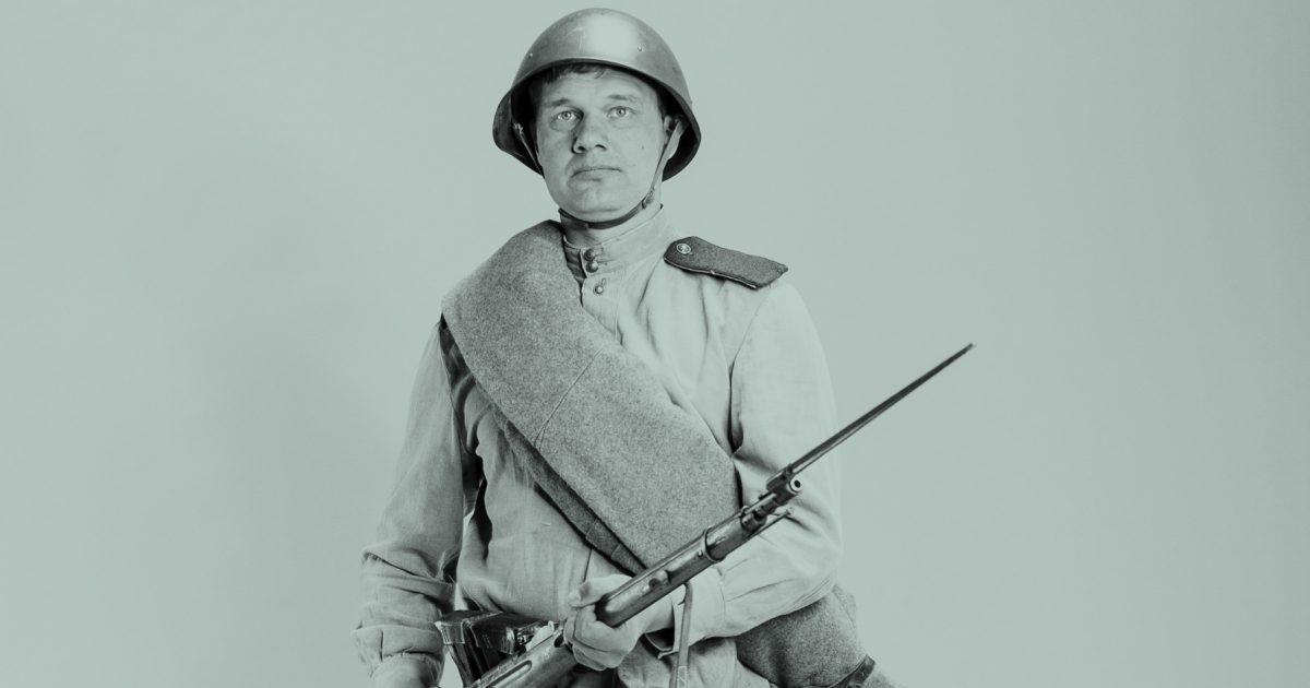 Стрелок Красной Армии (гид по форме второй мировой)