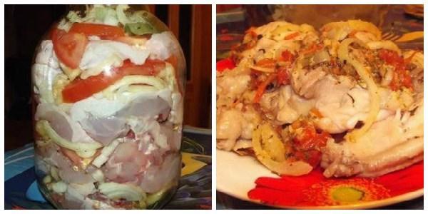 Курица в банке «офигенная» — невероятно вкусное блюдо