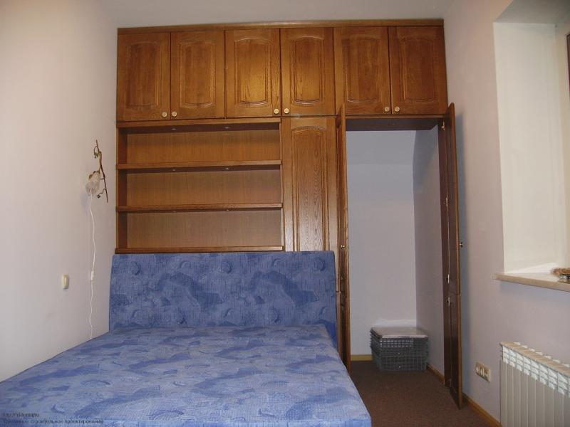 Встроенная мебель - оптимальное решение для небольшой спальни - Мебельные модули, стенки со шкафами. Как их скомбинировать, что