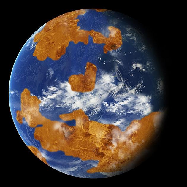 Исследователи: Венера на протяжении миллиардов лет была пригодной для жизни