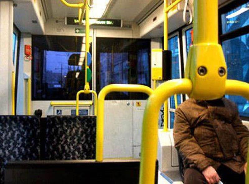 В последнем автобусе. перспектива, правильный ракурс, прикол, фотографии, юмор