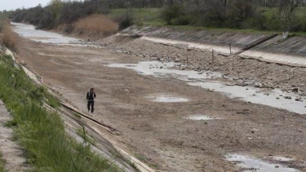 Крым полностью отказался от поставок воды с Украины