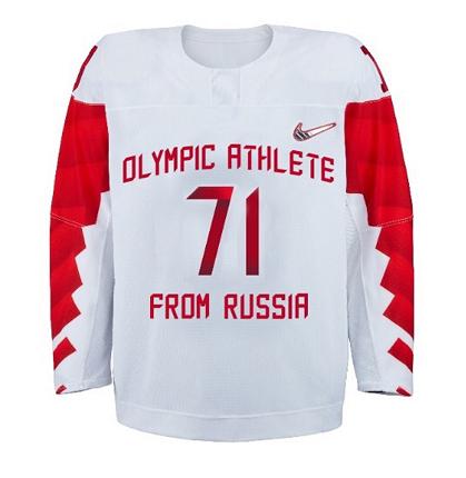 «Олимпийский спортсмен из России»:  Утверждена форма российских хоккеистов на Олимпиаде-2018