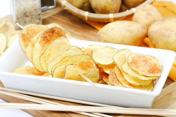 Картофельные чипсы рецепт с фото