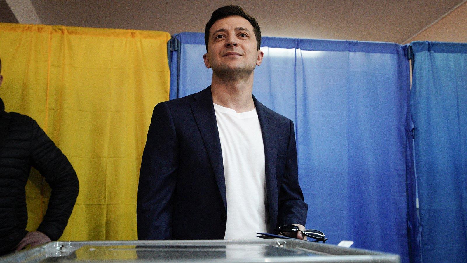 ЦИК Украины обнародовал первые результаты выборов