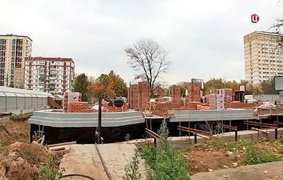Ресин проинспектировал строительство храма на юго-западе Москвы
