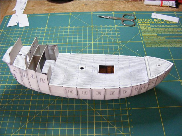 Модель корабля своими руками из картона 97