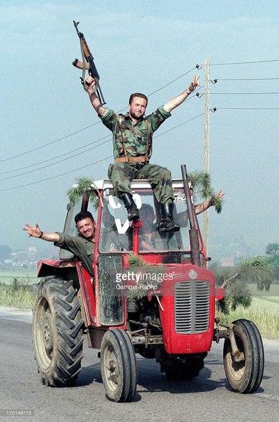 Югославская армия в Косово, 1999 г.