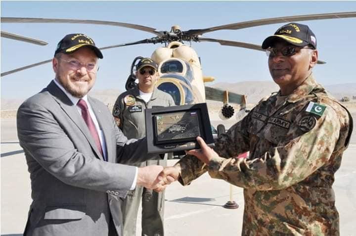 Передача четырех боевых вертолетов Ми-35М армейской авиации Пакистана