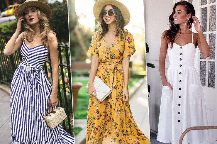 Летние платья — 7 фасонов, без которых этим летом никак