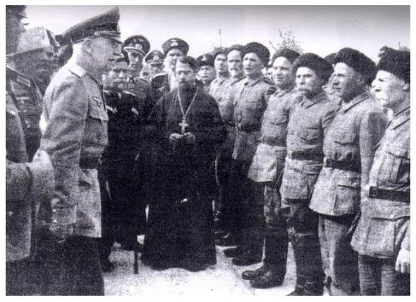 Казаки на службе у Третьего рейха