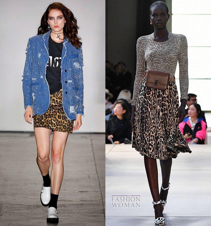 Модные юбки весна-лето 2019 фото №46