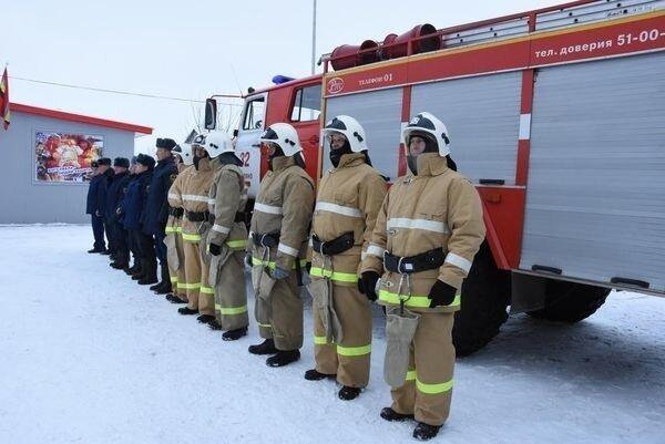 В Курской области открыли новое пожарное депо Хорошие, добрые, новости, россия, фоторепортаж