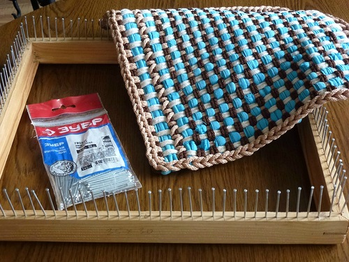 Плетеные коврики. Два интереснейших МК