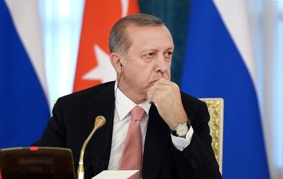 В Кремле рассказали о тематике разговора Путина с Эрдоганом