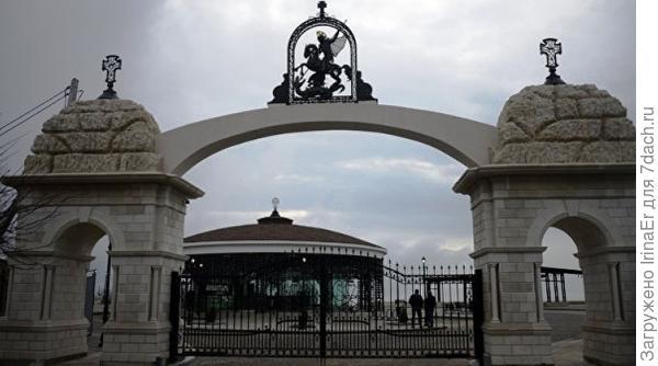 Севастопоьский новый парк Фиолент, Георгиевский монастырь