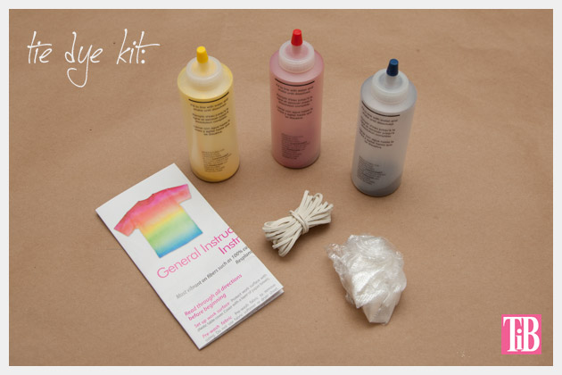 Ice Dyed Tunic Tulip's One Step Tie Dye Kit