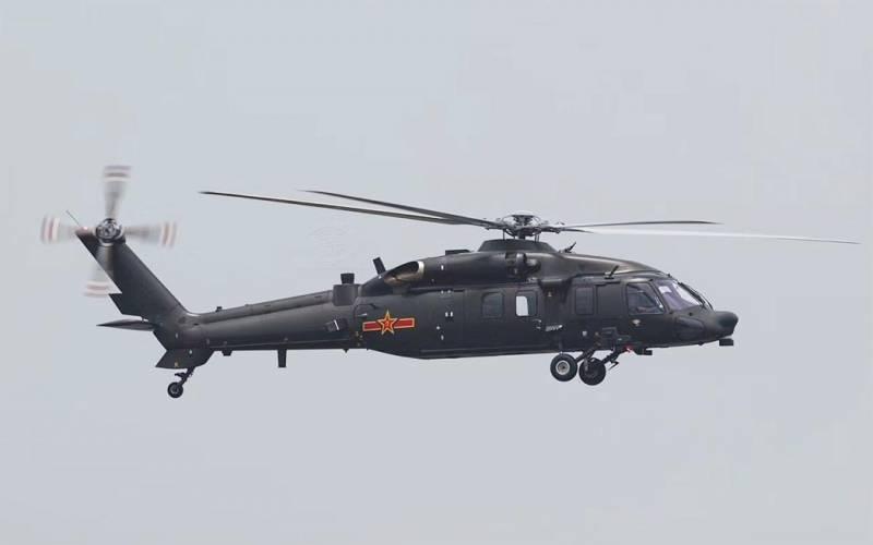 Многоцелевой вертолет Harbin Z-20 (Китай)
