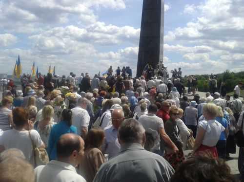 Граждане Украины снова воюют с фашизмом