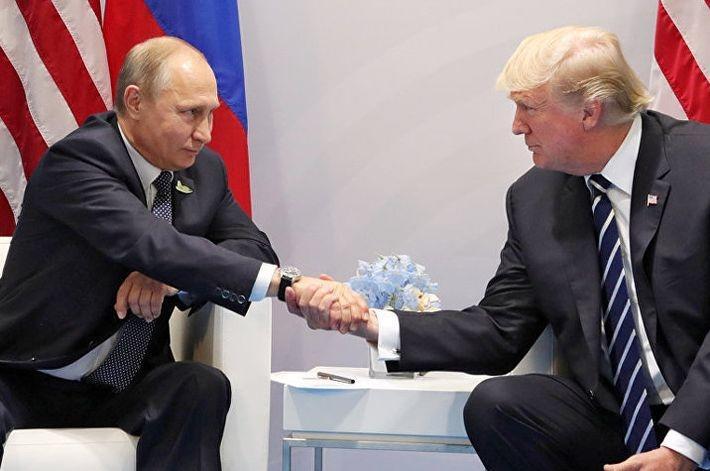 Трамп намерен обсудить с Пут…