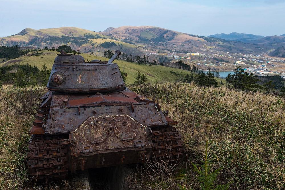 Военное наследие c oстровa Шикотан