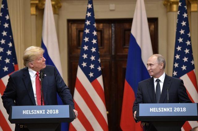 Пентагон поддержал решение Трампа пригласить Путина осенью в Вашингтон