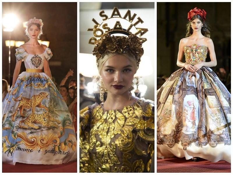 Dolce & Gabbana Haute Couture осень-зима 2017-2018
