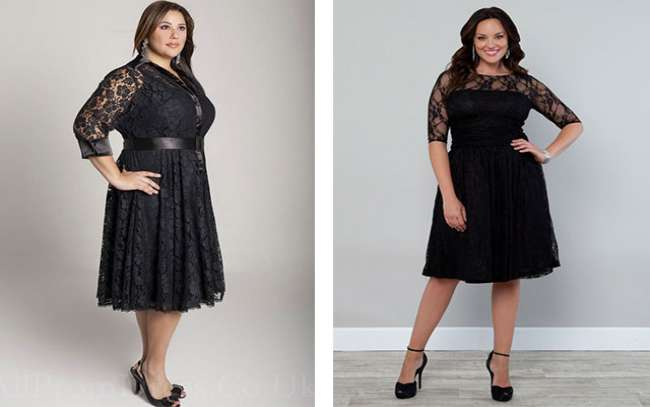 Красивые платья для очень полных