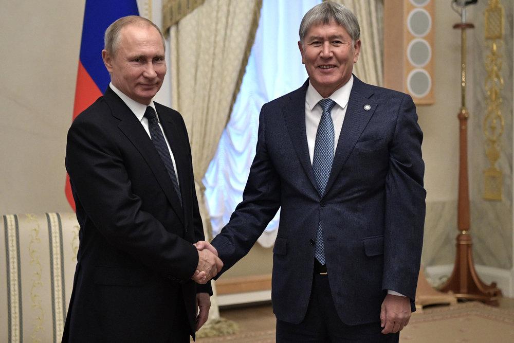 Атамбаев в беседе с Путиным похвалил российских бардов