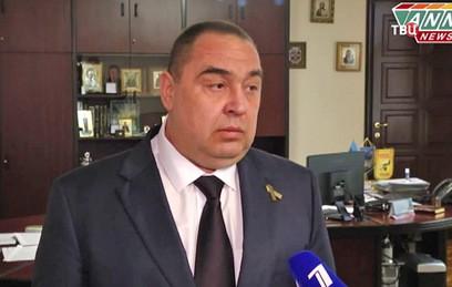Плотницкий сложил с себя полномочия главы ЛНР