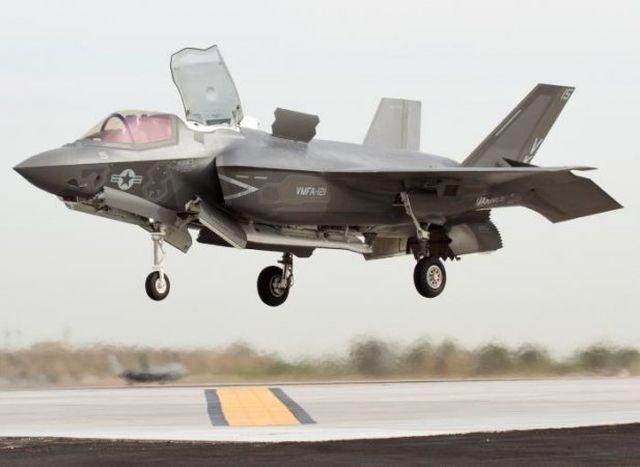 Почему палубный F-35В лишился «невидимости»