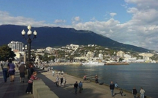 Прибалты рвутся в Крым, несм…