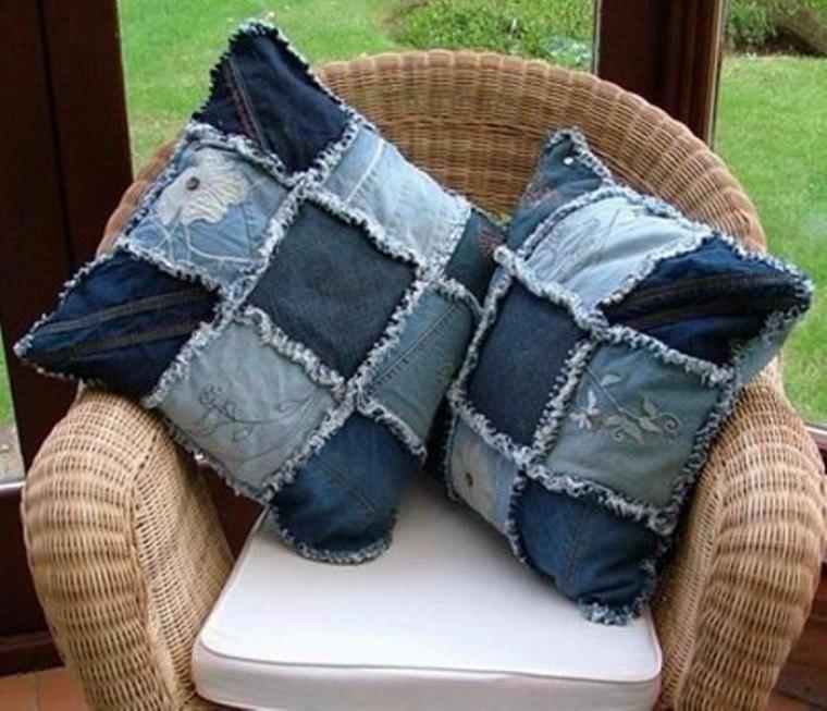 Вторая жизнь вещей. Идеи из старых джинс.