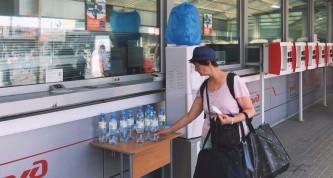 В московском метро начали раздавать бесплатную воду