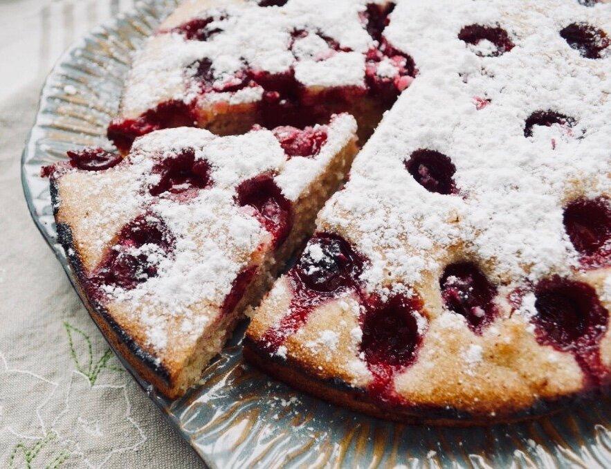 Манник с вишней! Невероятно простой и изумительно вкусный пирог
