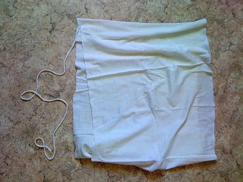 Тапочки из старых футболок. Вторая жизнь старых вещей
