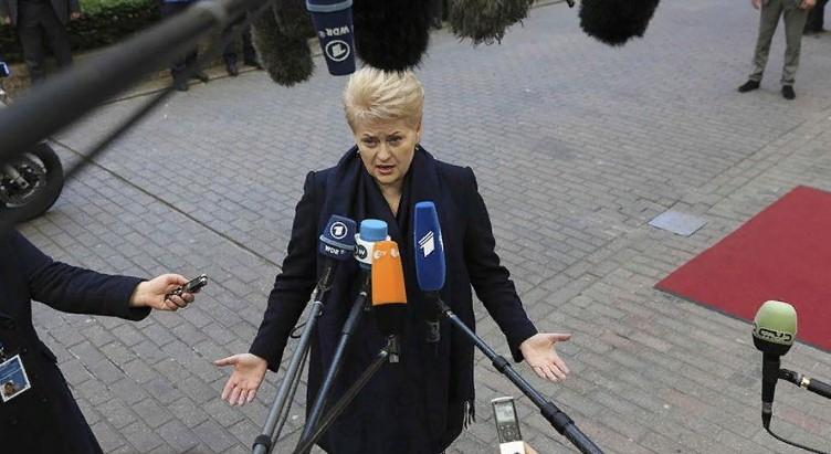 Скоро начнется: Грибаускайте призвала готовиться к «вторжению» России