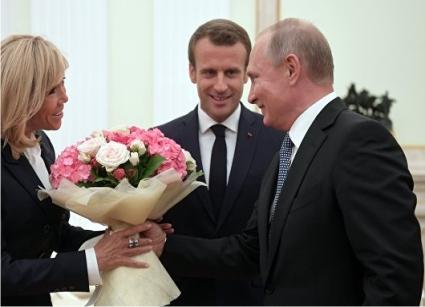 Букеты Владимира Путина как …
